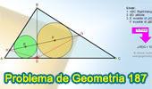 Problema de Geometría 187 (ESL): Triangulo Rectángulo, Altura, Incentro, Medida de Angulo.