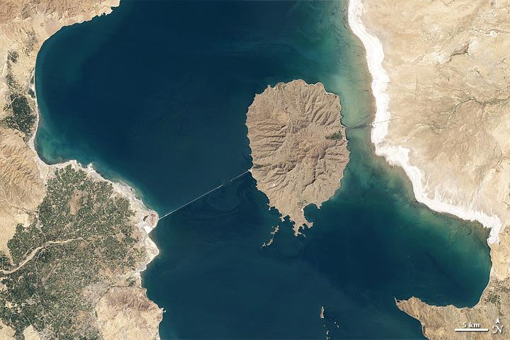Lake Orumiyeh, Iran