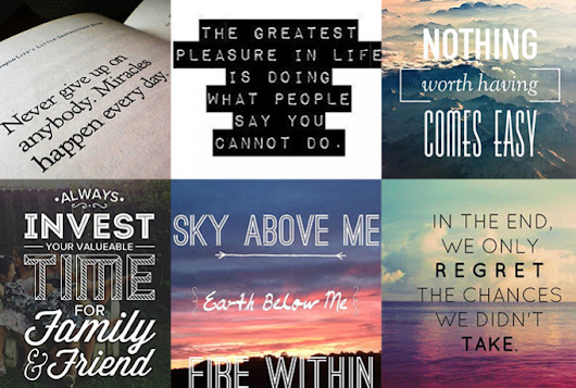I will create 201 Motivational Quotes with your Logo and URL