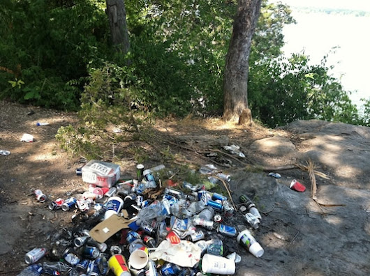 Dispose trash properly when visiting Corps lakes