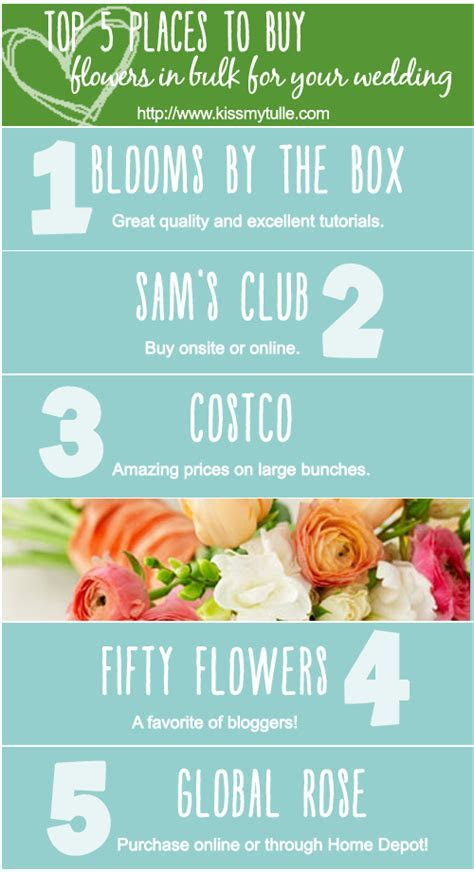 Top 5 Places to Buy Flowers in Bulk for your Wedding   Buy