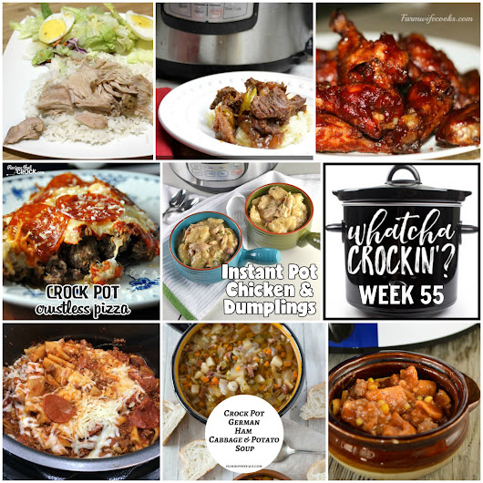 Instant Pot Chicken and Dumplings - WCW Week 55 - Recipes That Crock!