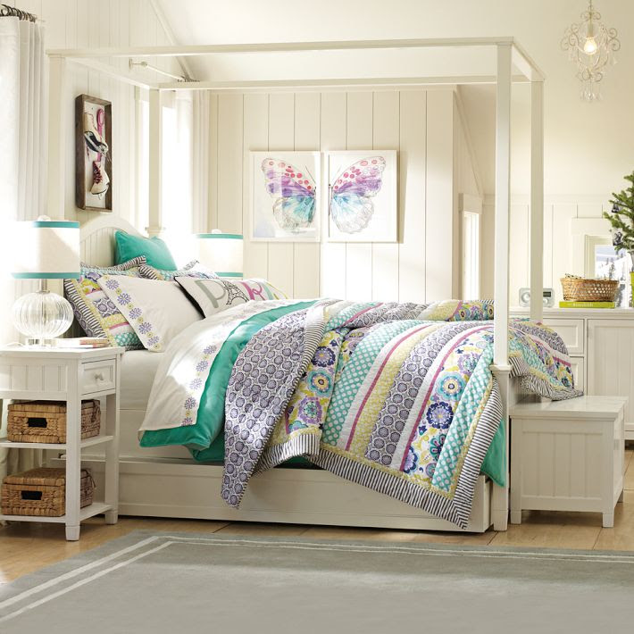 4 teen girls bedroom 23  Interior Design Ideas.