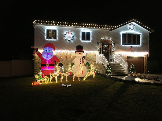 Holiday Lighting Installation by Gappsi in Port Jefferson, NY 11777