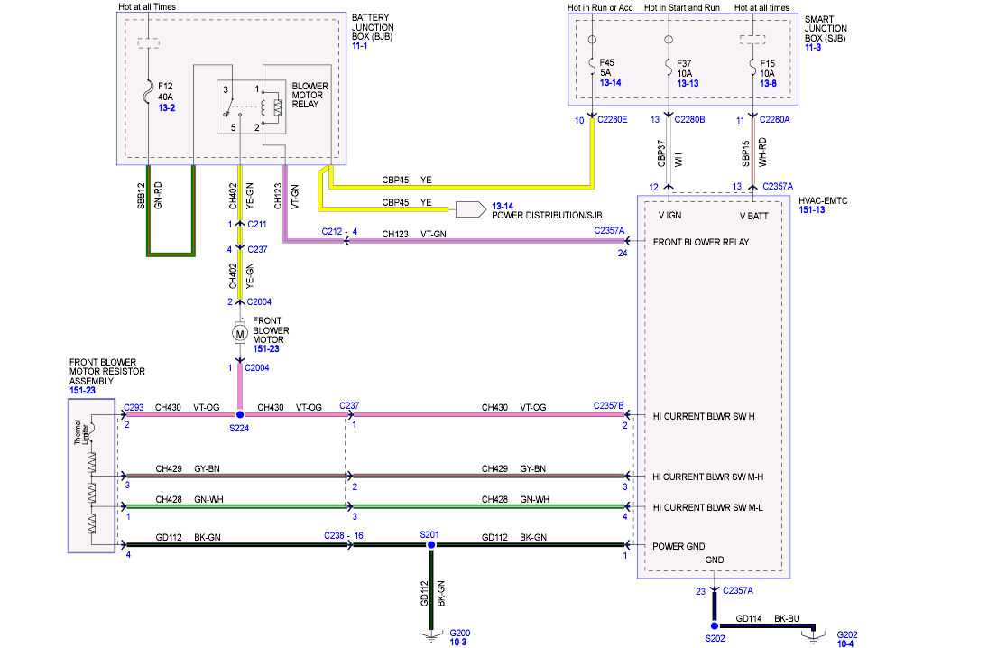29 2008 Ford Fusion Wiring Diagram