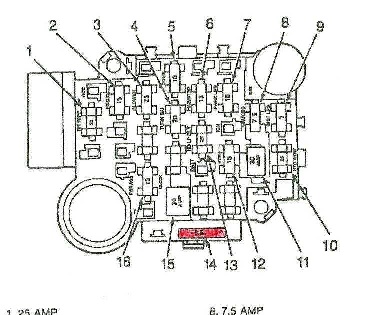 1994 Jeep Grand Cherokee Power Window Wiring Diagram