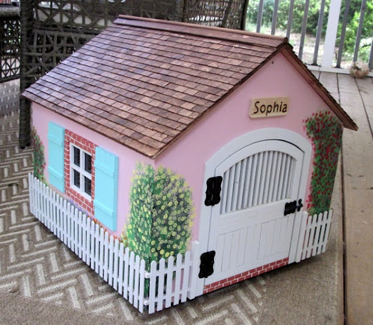 Cat cottage or small dog house 2017 model MK2 18L X