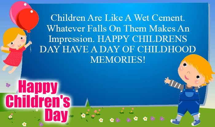 Happy Childrens Day Quotes Wishes Best Bal Divas Wishes