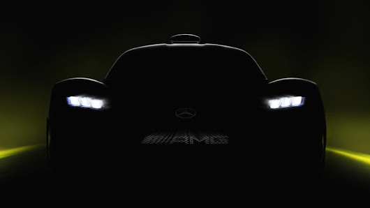 Mercedes teases 1,000-horsepower, 217-mph AMG Project ONE - Autoblog