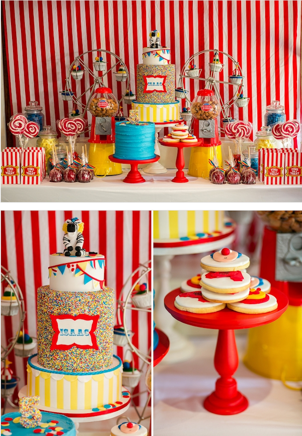 Circus Carnival Boy Girl 5th Birthday Party Planning Ideas ...