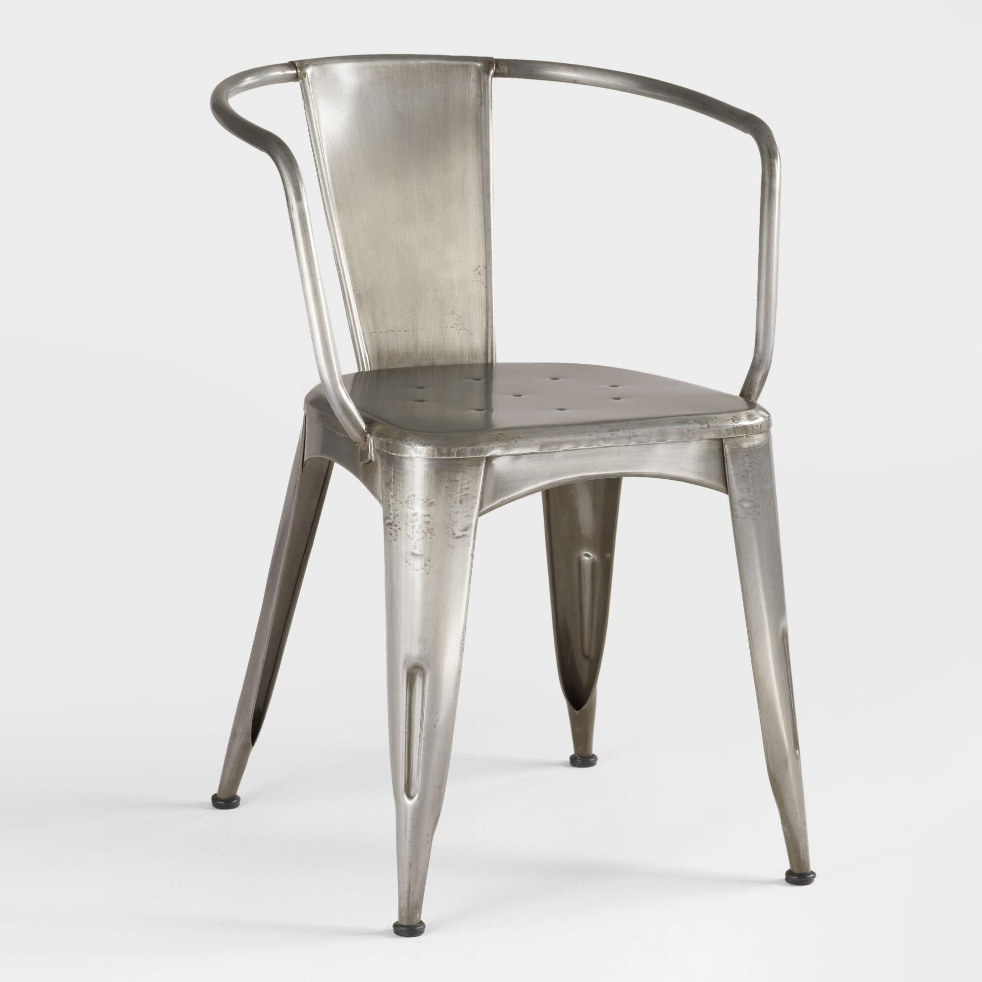 Galvanized Steel Chair Home Decorating Excellence