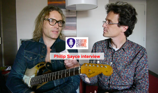 Interview with @PhilipSayce during the @MTLJazzFestival - The Guitar Channel