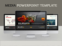 Media Powerpoint Template - GraphicRiver Item for Sale