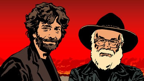 BBC News - Good Omens: How Neil Gaiman and Terry Pratchett wrote a book