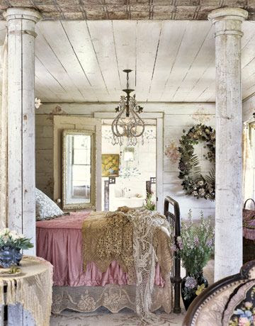 a little shabby...a little boho