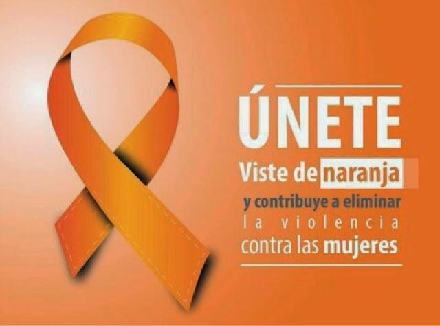 Resultado de imagen de dia internacional contra la violencia de genero pinta en naranja