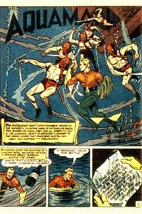 More Fun #78 Aquaman Splash Page