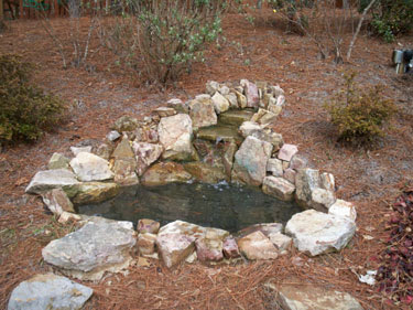 Fountain Solutions in Atlanta, GA - Backyard Fountain Waterscape