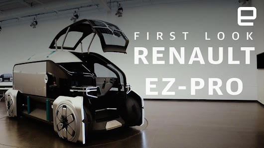 Renault's EZ-PRO is a workspace, coffee truck and rolling post office