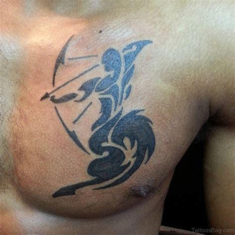 zodiac tattoos  chest