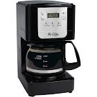 Mr. Coffee Advanced Brew JWX3-RB 5-Cup Coffee Maker - Black/Chrome