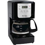 Mr. Coffee Advanced Brew JWX3-RB 5-Cup Coffee Maker - Black/Chrome