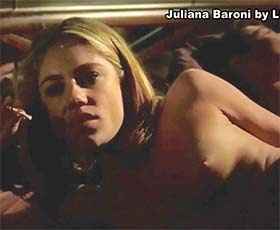 Juliana Baroni nua no filme brasileiro Polaroides Urbanas
