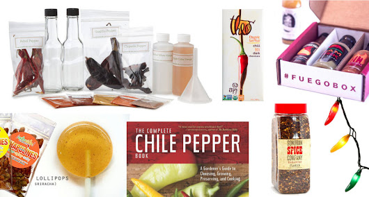 Gift Ideas for Spicy Food Addicts + Fans of Hot Sauce & Chiles