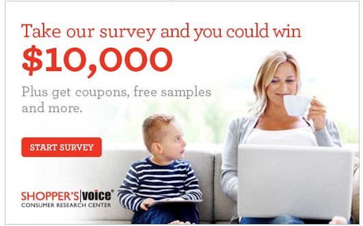 Earn cash and coupons for sharing your opinion at Shopper's Voice - Girl Gone Mom