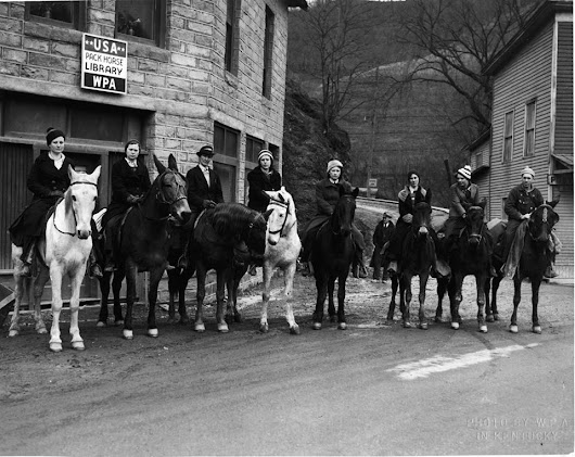 The Amazing Story of Kentucky's Horseback Librarians (10 Photos)