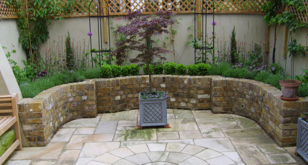 A Tiny Courtyard Transformed