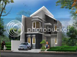 Desain rumah cantik, Desain rumah modern, jasa desain rumah
