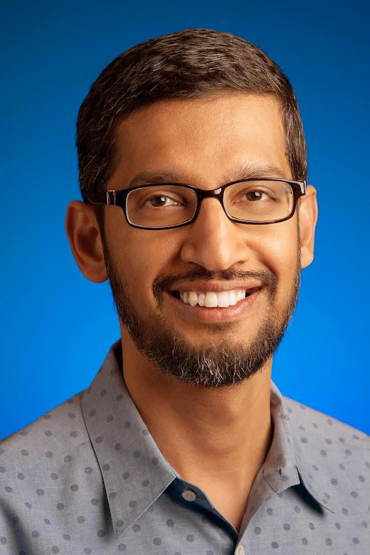 Sundar Pichai, CEO of Google by Sciences Po
