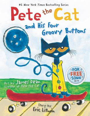 Cover Art for Pete the cat and his four groovy buttons
