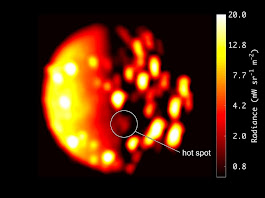 A new volcano on Io? Juno data indicate 'hot spot' on active moon – Astronomy Now