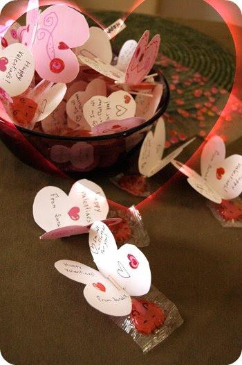 Tutorial mariposas para San Valentín.