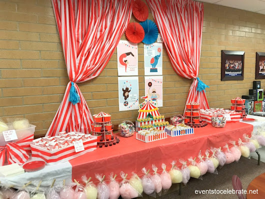 Teacher Appreciation Week Snack Bar - events to CELEBRATE!