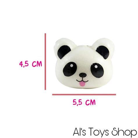 jual mainan squishy panda kungfu mini  panda imut
