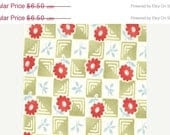 CLEARANCE 1 yard---Check in Lime, Bliss, Bonnie and Camille for Moda Fabrics
