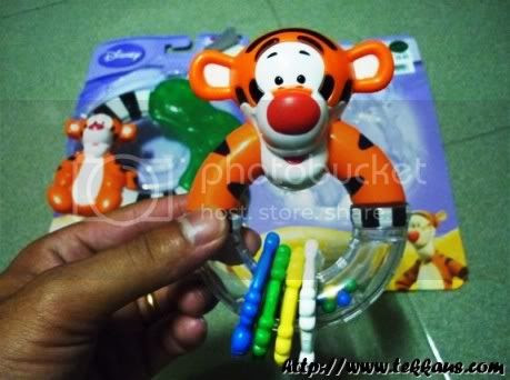 Disney Tigger Rattle & Teether