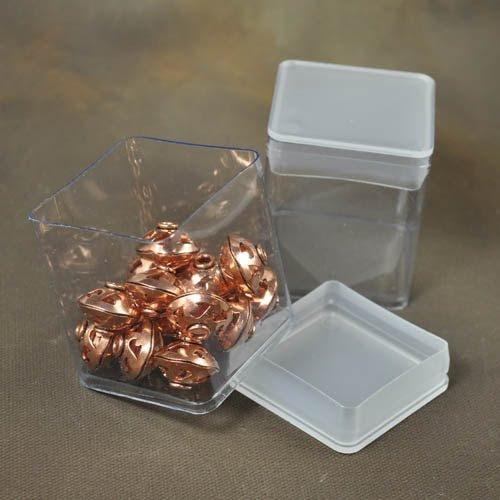 s31606 Packaging -  Square Storage or Display Bins - Clear (1)