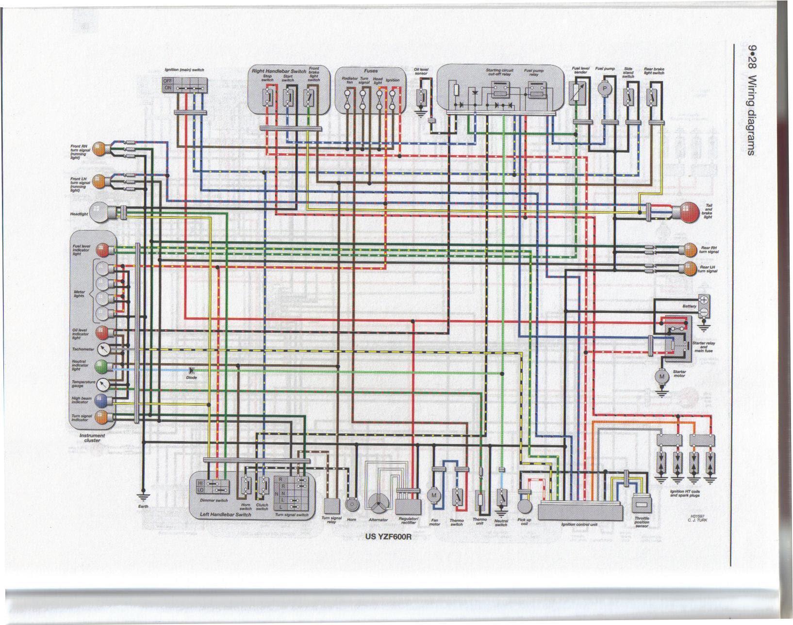 Diagram 2002 Yzf 600 Wiring Diagram Full Version Hd Quality Wiring Diagram Shipwiringl Ripettapalace It