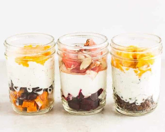 Sweet and Savory Breakfast Yogurt - MJ and Hungryman - Austin, TX Registered Dietitian Nutritionist