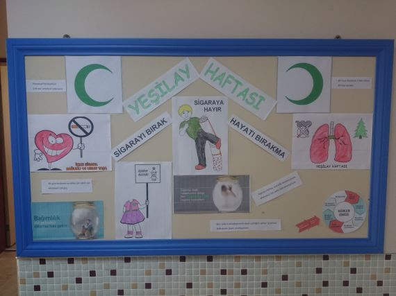 Okulumuzda Yeşilay Haftası Programı Eğitim Bilişim Ağı