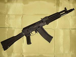 AK-105, Kalashnikov small assault rifle for ca...