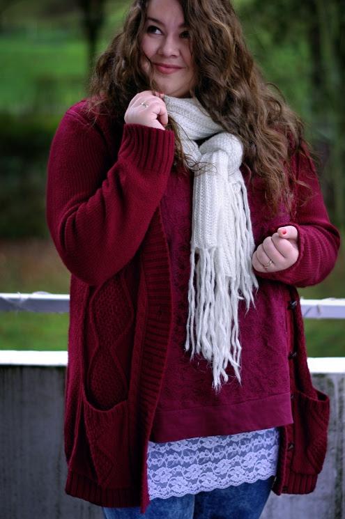 Große Größen Plus Size Fashion Blog lace kik takko clockhouse xl