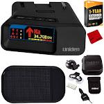 Uniden R7 Long Range Police Laser/Radar Detector w/ Arrow Alert +Warranty Bundle E10UNIR7