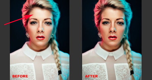 How to Quickly and Easily Remove Harsh Highlights in Photoshop