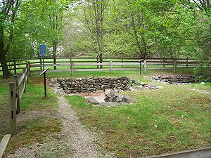 Present-day archaeological site of the Salem V...