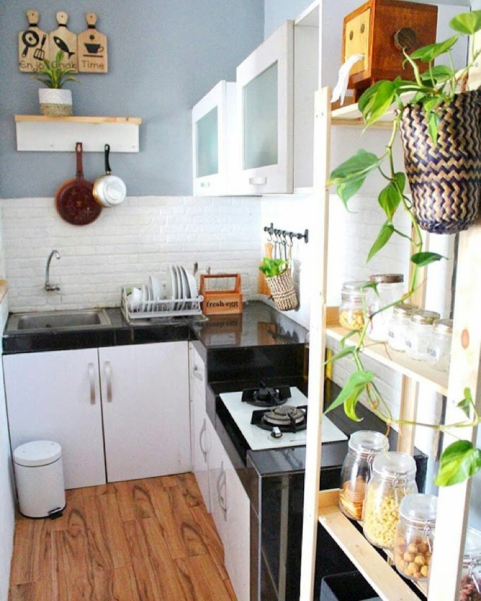 Dapur Kecil Tanpa Kitchen Set   Ide Rumah Minimalis